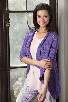 Craft Passions: Drapey Crochet cardigan..# free # crochet pattern ...