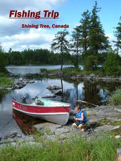 Northern Canada fishing trip Fishing In Canada, Northern Canada, Fishing Life, Places Ive Been, Wander, Hunting, Bucket, Boat, Travel