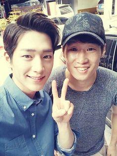 Seo Kang Joon met Park Ji Sung