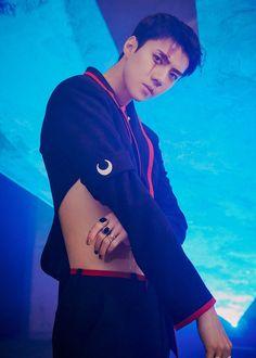 EXO's Sehun comes face to face with doppelganger in 'Obsession' teasers! EXO's Sehun comes face to face with doppelganger in 'Obsession' teasers! Kris Wu, Luhan And Kris, Baekhyun Chanyeol, Foto Sehun Exo, Sehun Hot, Kai, K Pop, Chen, Exo Official