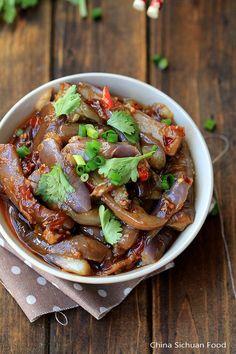Szechuan eggplants--Yu Xiang Eggplants
