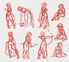 Mia pose thumbnails. (Sorceress in training) threefootgiraffe.blogspot.co.nz Training, Poses, Art, Art Background, Kunst, Fitness Workouts, Gym, Performing Arts, Education