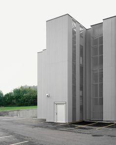 """e2a - """"Faraday cage"""" office and production building, Bubikon 2012"""