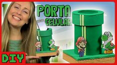 Porta Celular do Super Mario - DiY Geek