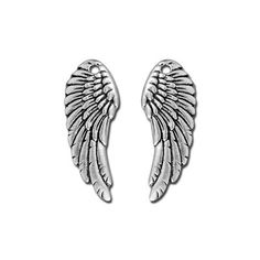 11mm Antique Silver Wing by Tierracast