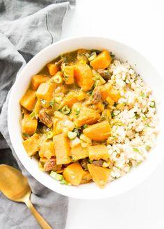 Swift Sweet Potato Coconut Curry
