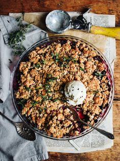 Wonderful British fruit season is in full swing and I wanted to make a simple dessert which celebrates their abundance and juicy goodness.And this is so simple – blackberries collected from the garden, some extra blueberries for good measure, topped with a simple but absolutely delicious peanut butter oat crispy topping. The combination of sweet…