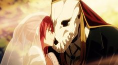 Elias Ainsworth and Chise Hatori. The Ancient Magus' Bride Mahou Tsukai no Yume Manga Anime, Got Anime, Anime Love, Anime Art, Anime Couples, Cute Couples, Bride Tumblr, Kore Yamazaki, Elias Ainsworth