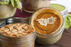 Pumpkin pie in a jar! where was this when I was pregnant and wanting it all the time?  IMG_8195 by thenerdswife, via Flickr