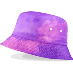 Purple Sky Bucket Hat ($48) ❤ liked on Polyvore featuring accessories, hats, bucket hat, purple hat, fishing hat and fisherman hat