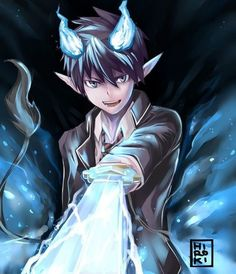 blue exorcist | Blue Exorcist images Rin wallpaper and background photos ...