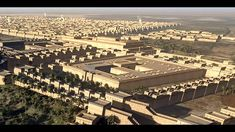 Reconstruction of the ancient city of Babylon was created by me between March and May of 2013 for the Mesopotamia exhibition of the Royal Ontario Museum . Northern Palace, Babylon