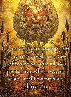 Universal oneness
