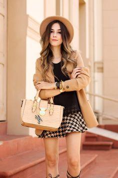 FashionCoolture - 03/22/2016 look du jour camel blazer nude lace up shoes black autumn (6) Fashion Coolture waysify