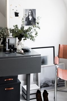 IKEA HACK :: DIY Leather Strap Box