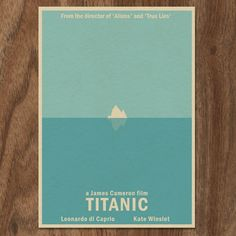 This poster is so mint! Titanic 16x12 Movie Poster by MonsterGallery on Etsy
