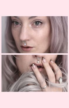 ohvex: grey days - new lens Philtrum Piercing, Piercings, Medusa Piercing, Smiley Piercing, Dimple Piercing, Body Modifications, Body Mods, Body Jewelry, Septum Jewelry