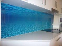 Image result for beach style kitchen splashback