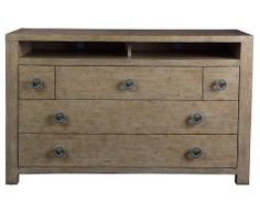 Leeward Media Chest by John Black for Curate Home Collection.