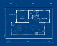 """drift 375 SF 1BR/1BA (or 2 bed as shown) Typically priced at $ 120,000  drift! Think of it like """"ideabox on the water."""" The drift series of homes is a clever combination of disciplines… ideabox (prefab) + Even Construction (floating home builder) + Mike Foote (experienced residential developer)."""