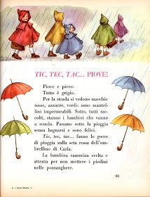 Soloillustratori: I nostri illustratori a scuola Italian Grammar, Italian Vocabulary, Italian Language, Vintage Children's Books, Vintage Posters, Nursery Rhythm, Learn To Speak Italian, Paper Child, Rhyming Activities