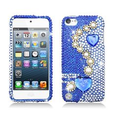 Royal+Blue++Full+Diamond+Bling+Hard+Shell+Case+for+iPod+Touch+5    -+Hard+plastic+phone+shell+adorned+with+sparkling+rhinestones+and+glitter+on+plastic+case.  -+Custom+fit+for+your+model+phone+allowing+the+phone+to+be+fully+functional+with+the+case+on.  -+Easy+to+install+-+simply+snap+on.+No+tool...