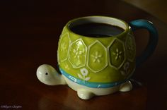 Turtle coffee mug