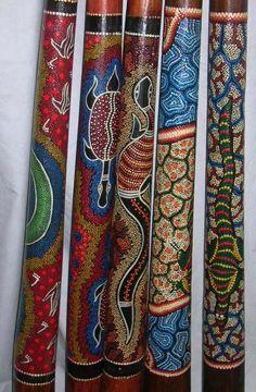 Sea turtles should go on mine!  didgeridoo decoration - Google zoeken