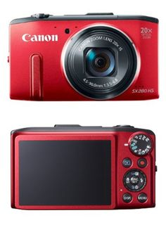 Canon PowerShot SX280 12MP Digital Camera with 20x Optical Image Stabilized Zoom with 3-Inch LCD