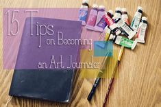 Nice ideas and prompts to get moving on your art journal.  Making it a practice is a nice way to be creative e very day.