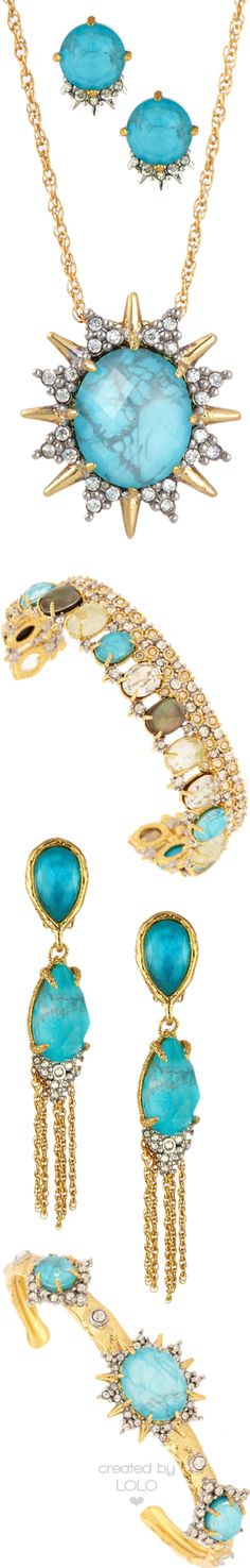 Alexis Bittar Turquoise Jewelry | LOLO❤︎