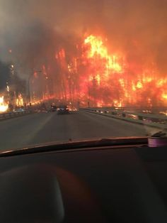 Fort McMurray fire 2016  Brought to you by: #DataDiggerDon