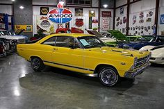 1966 Ford Fairlane GT #throwback #onefortheages