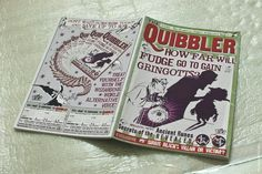 Harry Potter and the Order of the Phoenix (2007) movie props The Quibbler magazine