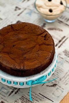 Ciasto czekoladowe z espresso i kremem caffe latte