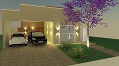 Ideia de Planta de Casa Com 3 Quartos  127m²   --  Projetos e Plantas de Casas | Ideias de PROJETOS | Ideia de Planta de Casa Com 3 Quartos