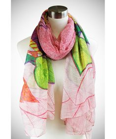 light weight spring scarf!