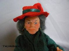 Dollhouse Doll Witch  1 : 12  OOAK  by