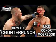 How to counterpunch like Conor McGregor Connor Mcgregor, Wing Chun, Krav Maga, Kickboxing, Muay Thai, Karate, Mma, Martial Arts, Kick Boxing