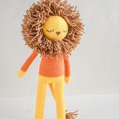 Lion crochet pattern, amigurumi lion, amigurumi pattern