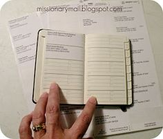 Make an Address Book for your missionary to take with him on his mission.  Addresses of everyone he might want to write.