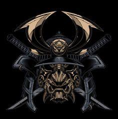 Resultado de imagem para samurai masks tattoos
