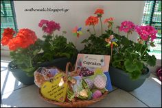 How to: DIY easter present (basket with goodies) for the godmother and the godfather Visit www.anthomeli.com