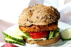 zdravý vege burger