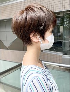 Short Pixie Bob, Edgy Short Hair, Asian Short Hair, Pixie Hairstyles, Pixie Haircut, Hairstyles With Bangs, Medium Hair Styles, Short Hair Styles, New Hair Look