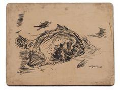 Fish, Oskar Kokoschka