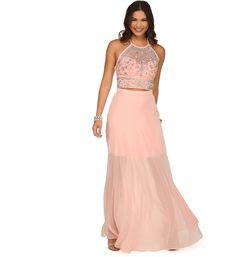 Layla Pink Two Piece Dress