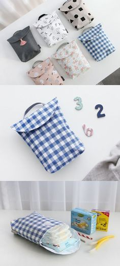 you looking for a cute diaper bag to hold the diapers extra conveniently? -Are you looking for a cute diaper bag to hold the diapers extra conveniently? Baby Crafts, Diy And Crafts, Cute Diaper Bags, Sewing Crafts, Sewing Projects, Creation Couture, Simple Bags, Baby Sewing, New Baby Products