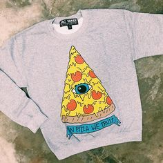 "You guyyyyys, @zumiez just dropped a ton of new JV fleece, right in time for the holidays. Now I really want some pizza. Tag a friend who needs the ""in pizza we trust"" sweatshirt and get yours on ZUMIEZ.COM or select Zumiez stores. #zumiez #jacvanek"