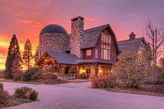 "For Sale: An Incredible ""Barn Mansion"" Built in Utah - Hooked on Houses"